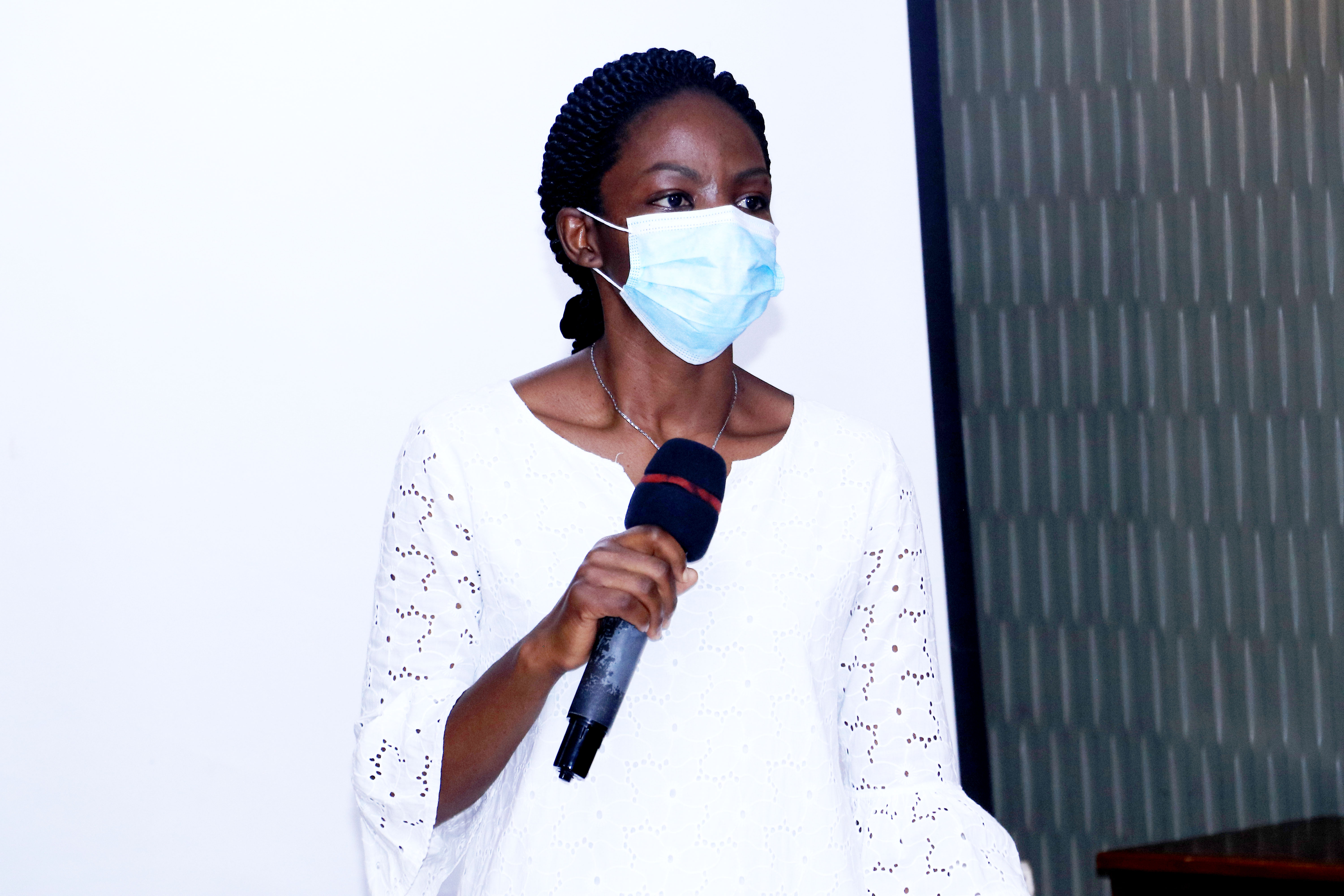 Dr. Esther Buregyeya, an Associate Professor and Head of the Department of Disease Control and Environmental Health at Makerere University School of Public Health