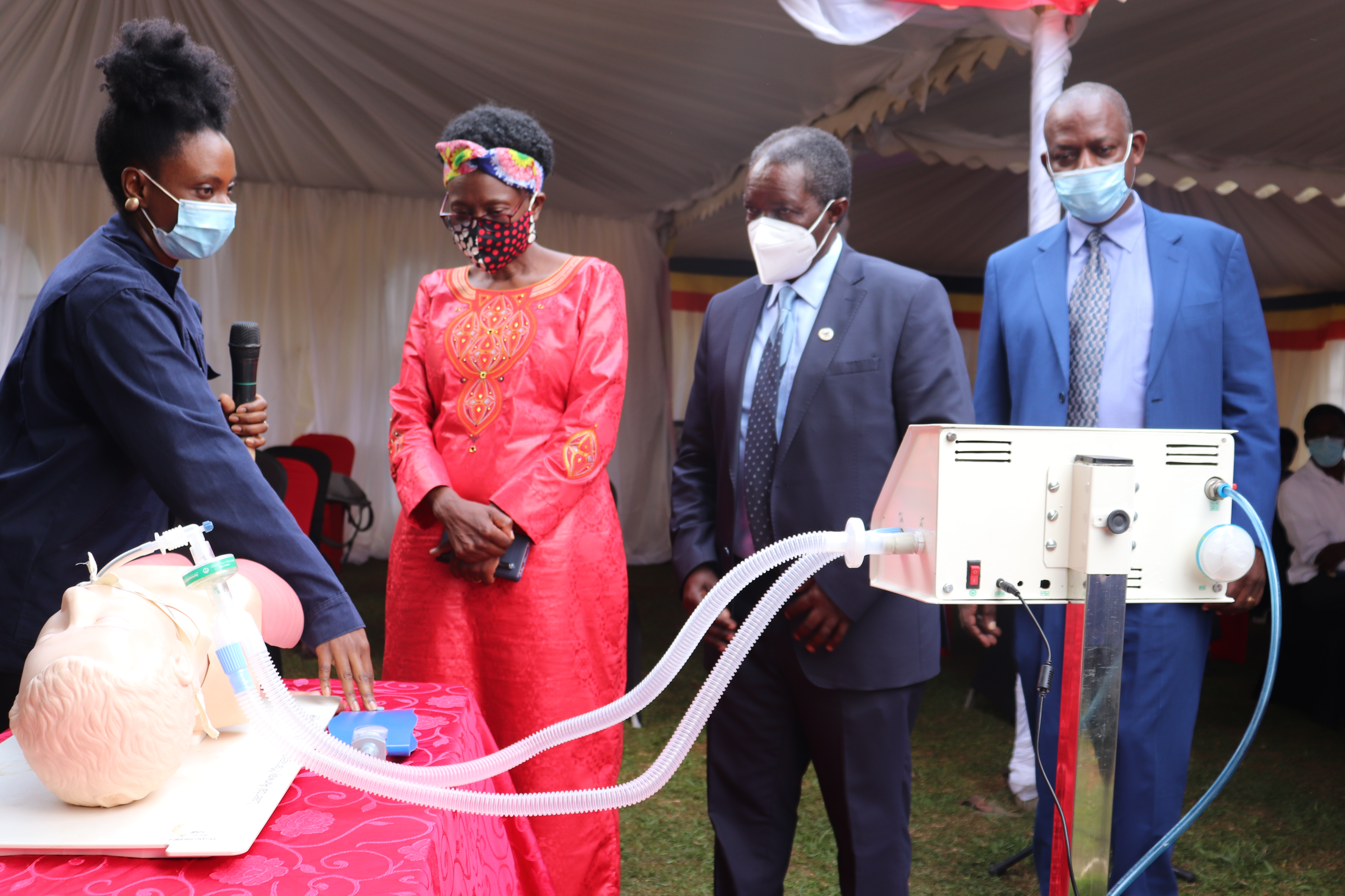 Unveiling Progress of the Low Cost Medical Ventilator (Bulamu Ventilator)